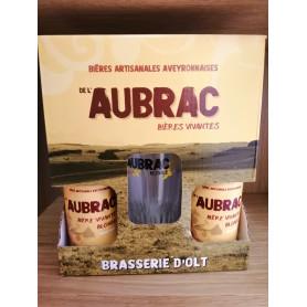 Coffret Bières blonde artisanale de l'Aubrac