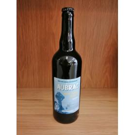 Bière blanche artisanale de l'Aubrac 4.5% vol 75cl