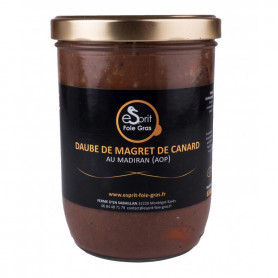 DAUBE DE MAGRET DE CANARD AU MADIRAN - 650 G