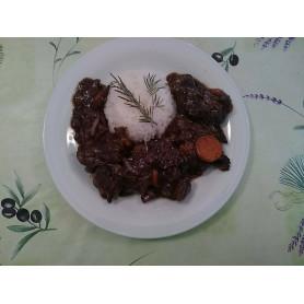 Estofade de Taureau en bocaux prête à déguster pour 2 personnes - 650 g