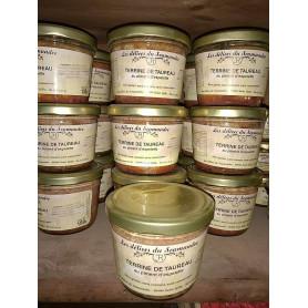Terrine de Taureau au piment d'Espelette - 85 g