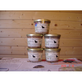 Terrine de Taureau à l'ancienne au olives vertes - 180 g