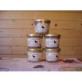 Terrine de Taureau raisins et noix - 180 g
