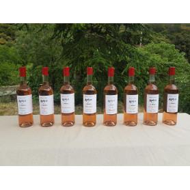 Rosé à la pêche de vigne