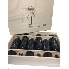 L de Lézignan Version 6 bouteilles en caisse bois